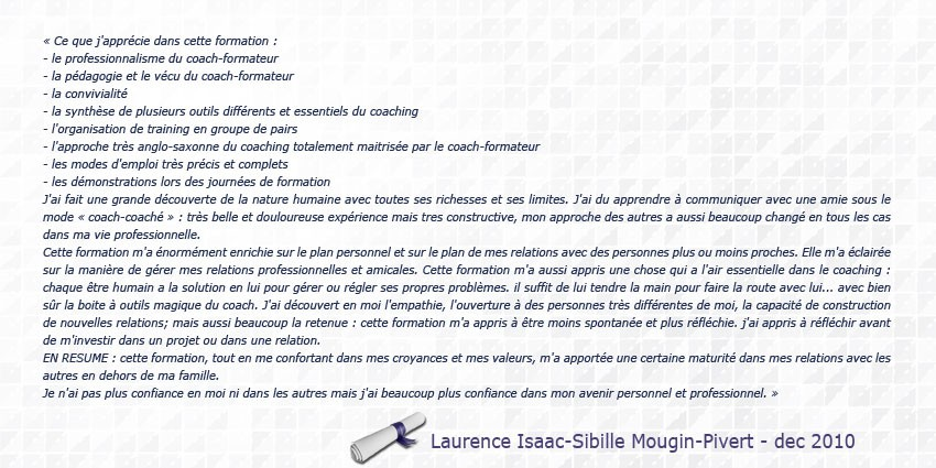 personnes-certifiees-coaching-creatif-oriente-solution-meatus-Laurence-Isaac-Sibille-Mougin-Pivert